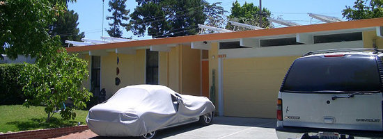 An Eichler with a Foam Roof