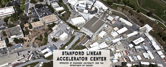 Stanford Linear Accelerator, SLAC offices and sign